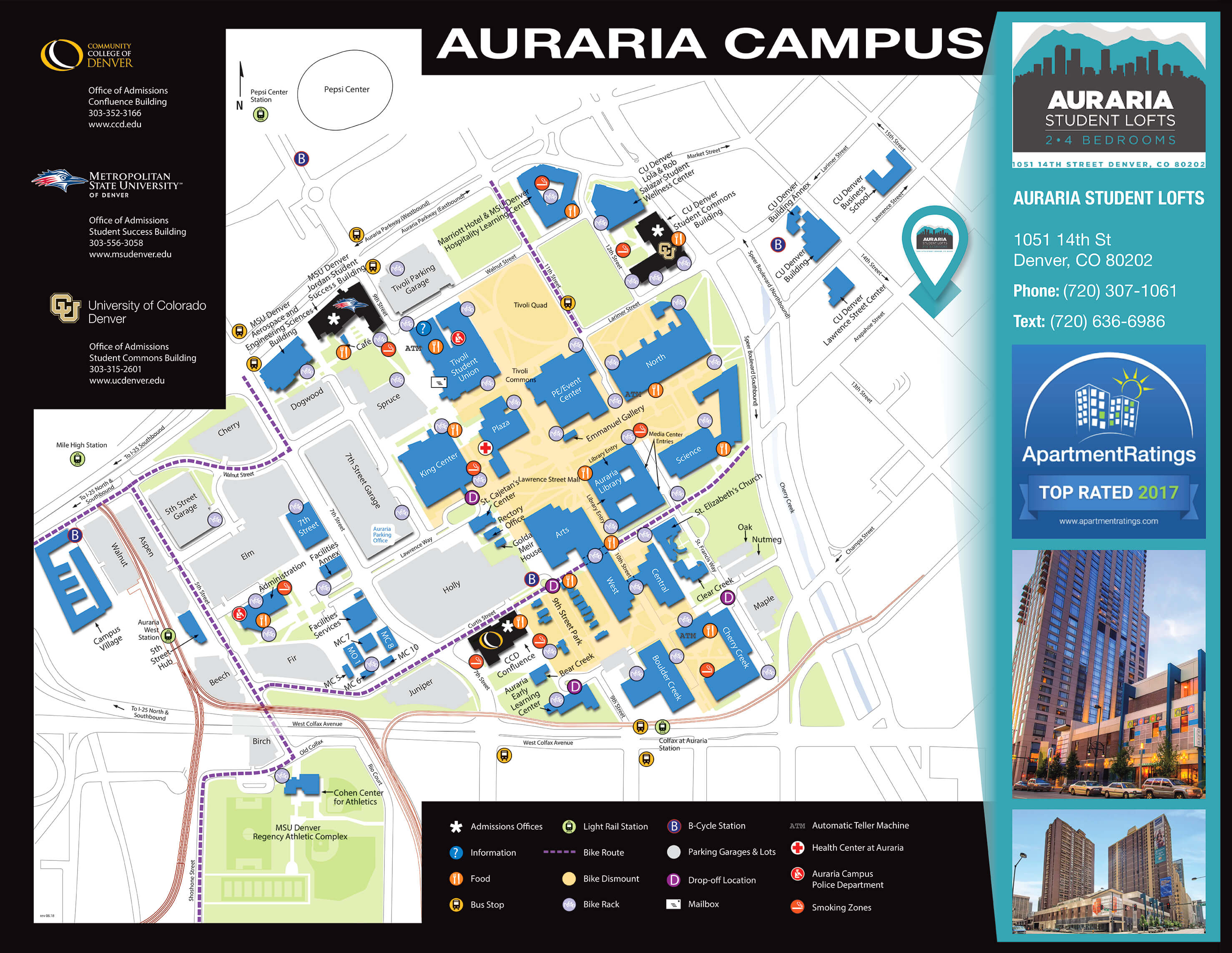 Auraria-Student-Housing-Campus-Map