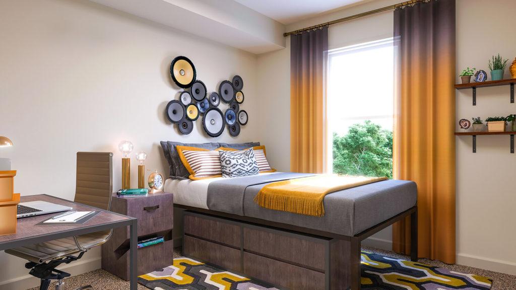WWU off-campus-apts-bedroom-2