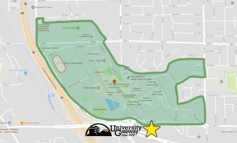 UVU-Map-Gateway