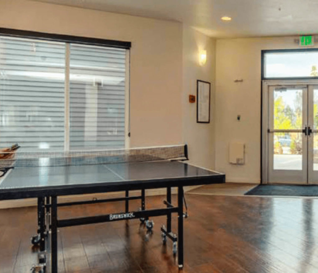 Ping Pong Table - student housing apartments near university of northern colorado
