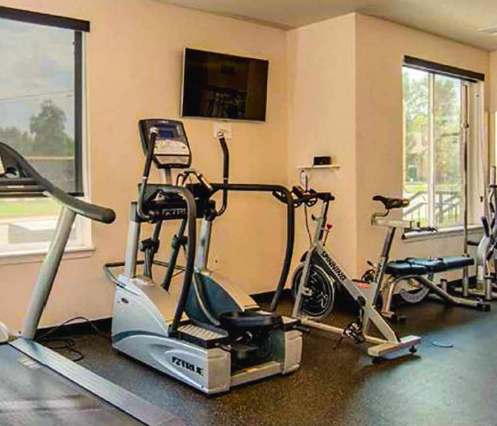 Cardio Machines - student housing apartments near university of northern colorado