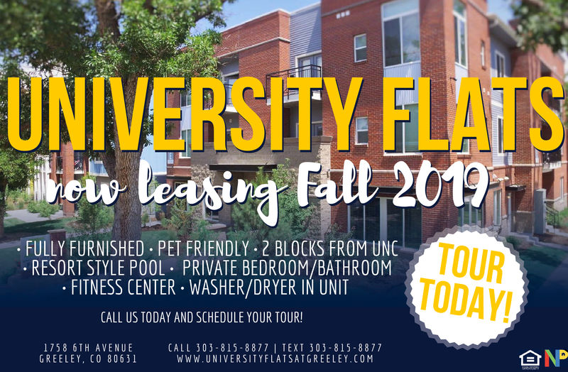 University Flats Apartments Now Leasing