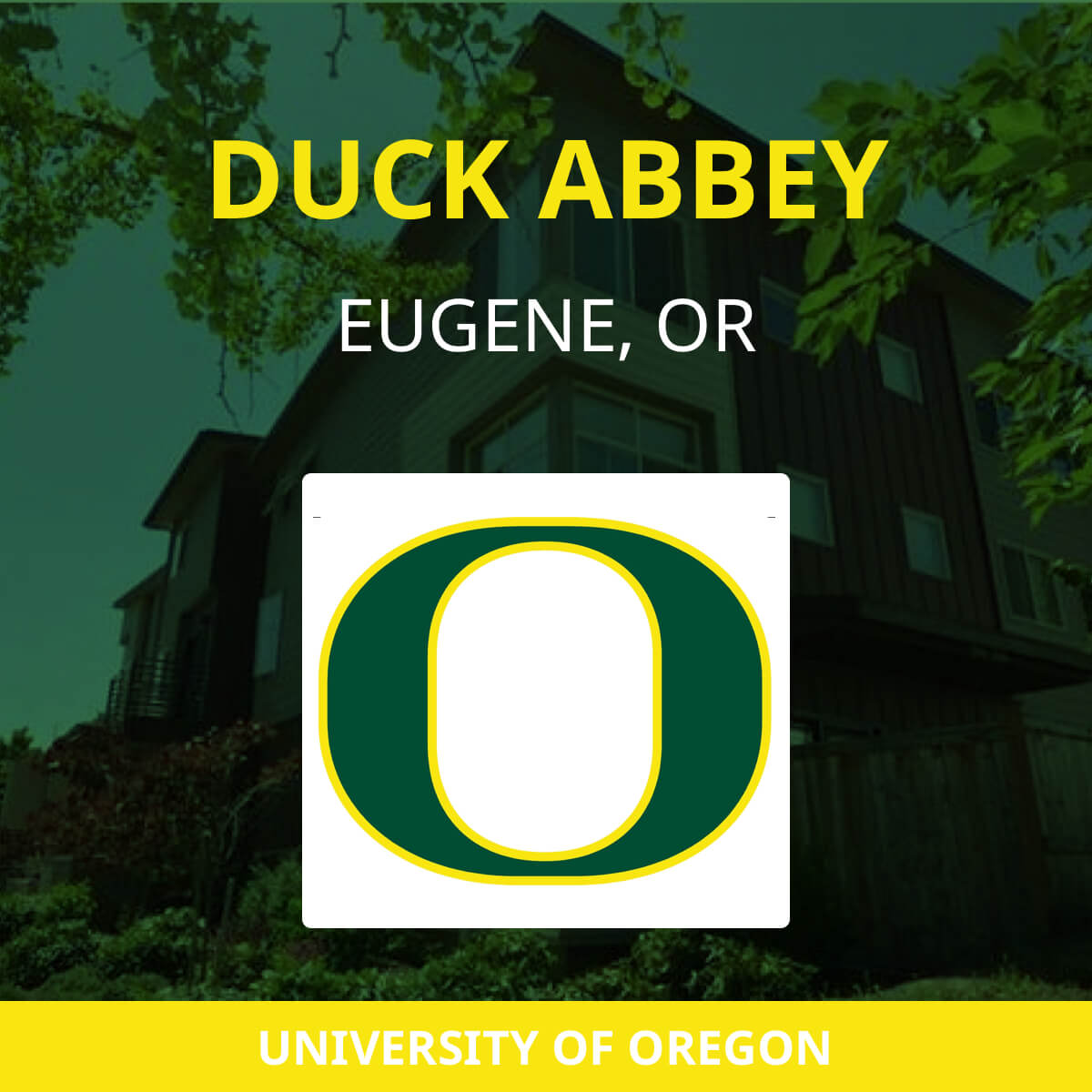 Duck Abbey Apartments | Near UO | Eugene, OR Student Apartments