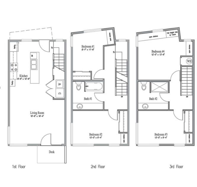 Duck Abbey Floor Plans