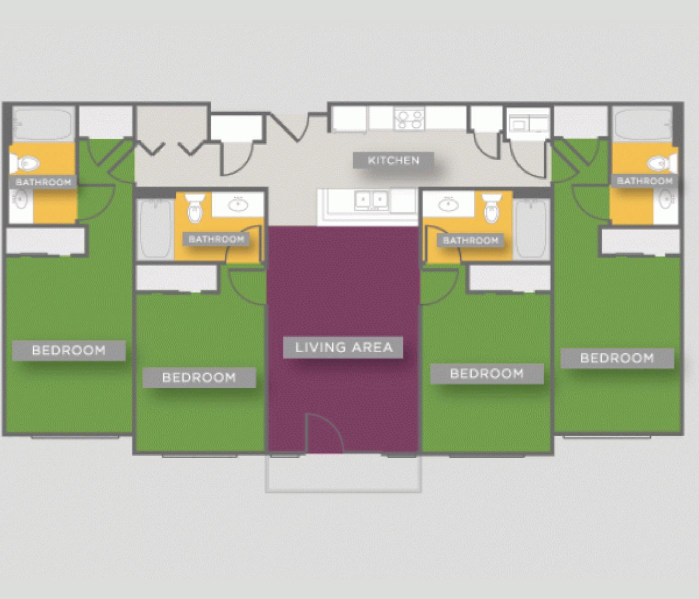 Loft-Vue-student-housing-Bluebonnet
