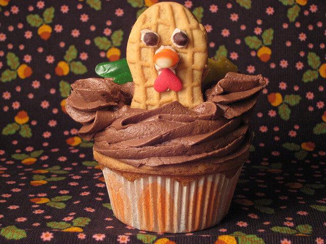 turkey-cupcake
